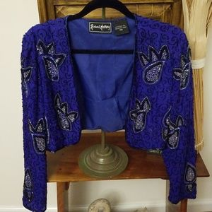 🌹🍃Absolutely gorgeous sequin jacket💖🛍